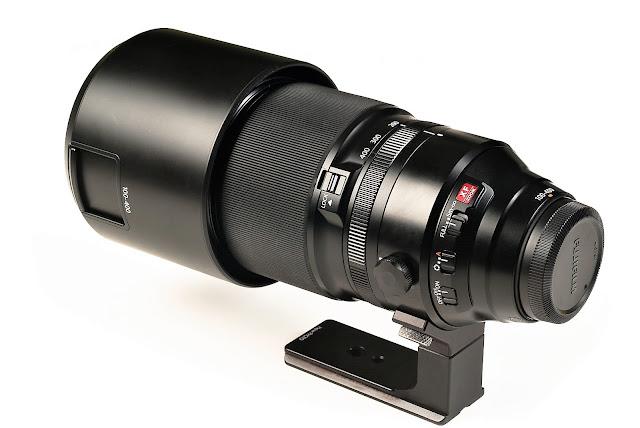 Hejnar FUJI-100-400-FOOT on FUJINON XF100-400mm F4.5-5.6R rear