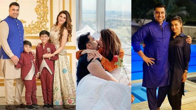 Beautiful Picture of Sana Fakhar Celebrates Her Husband Birthday - reviewit pak