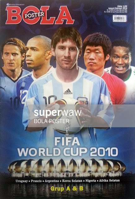 POSTER FIFA WORLD CUP 2010 GrOup A & B