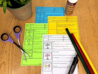 Try these interactive guided notes to reach all the learners in your middle school ELA classroom!  #teaching #languagearts