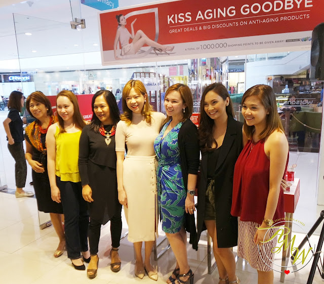 a photo of Watsons Kisses Aging Goodbye campaign