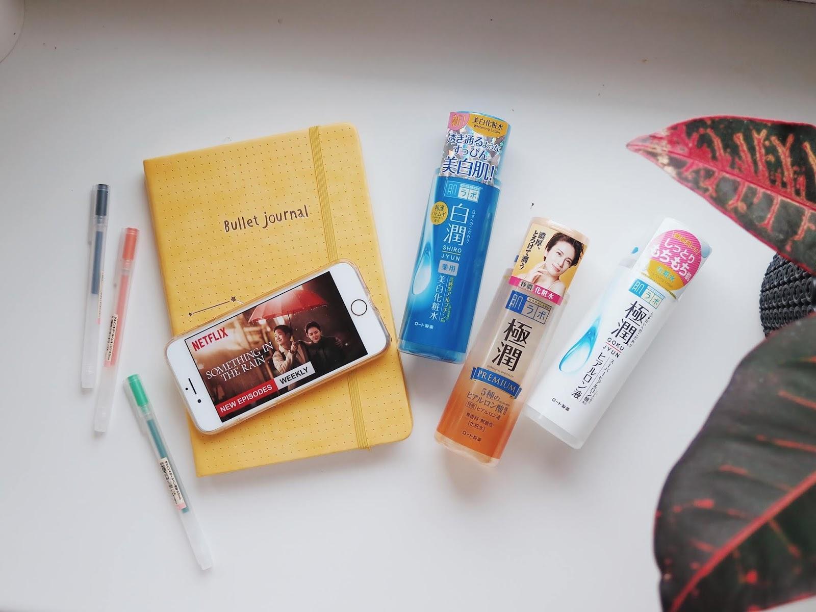 Ostatni miesiąc | Luty 2019 - Bullet Journal, J-Beauty i nowa drama