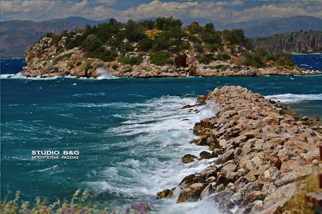 Ισχυροί άνεμοι στις θαλάσσιες και παραθαλάσσιες περιοχές της Αργολίδας