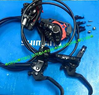 Brakeset XT M8000