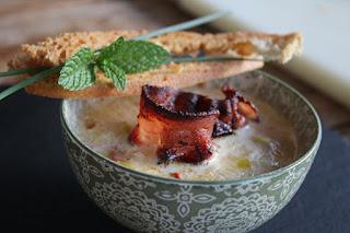 sopa de avena