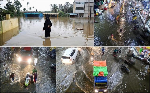 MUNDO: 244 muertes han dejado las inundaciones en  la India y autoridades alertaron nuevos riesgos.