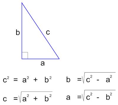 rumus pythagoras 2