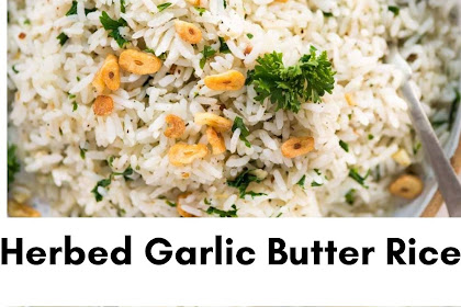 Herbed Garlic Butter Rice