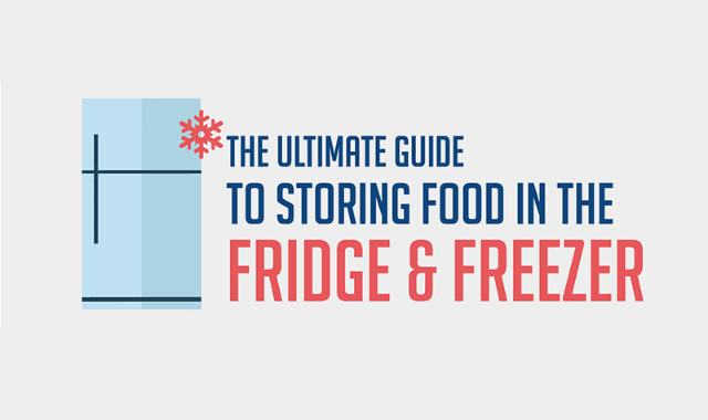 The Ultimate Guide To Storing Food In The Fridge And Freezer