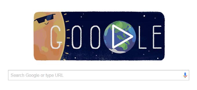 Google Juga Sambut Gerhana Matahari Total 2016