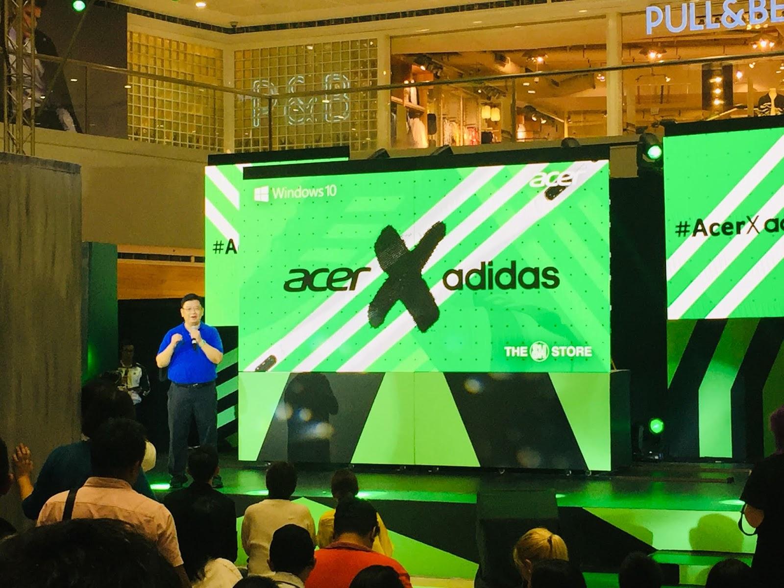 ACER x Adidas for Back To School Season - KUMAGCOW COM