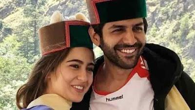 Sara Ali Khan and Kartik Aaryan Spotted In Himachal Pradesh