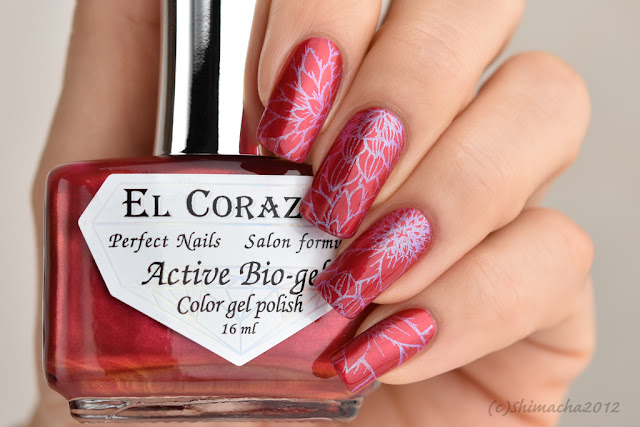 "El Corazon: No.423/626 ""Strawberry Margarita"" / Nail Stamping, スタンピングネイル"