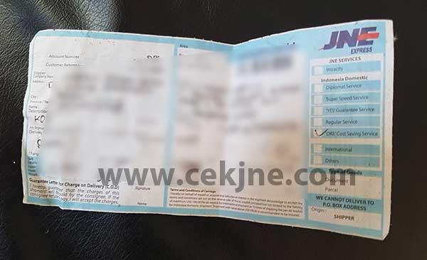 Cara Cek Nomor Resi JNE Kiriman Kab Aceh Singkil