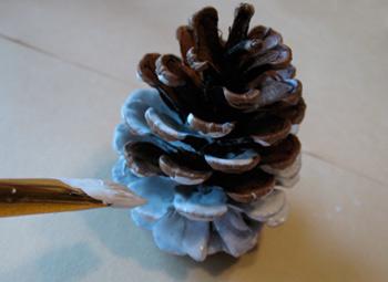 como hacer muñecos de nieve navideños