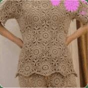 Pantalon a Crochet