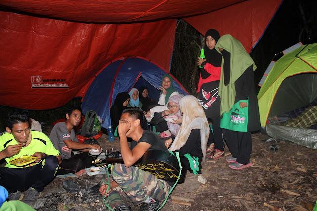 Pengalaman Hiking & Camping Di Bukit Panchang  Tinagat Tawau