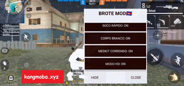 APK Free Fire Mod Brote Menu Headshot