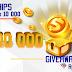 Bonus freechip Gratis Rp 10.000 tanpa deposit & bonus Giveaway Rp 100.000