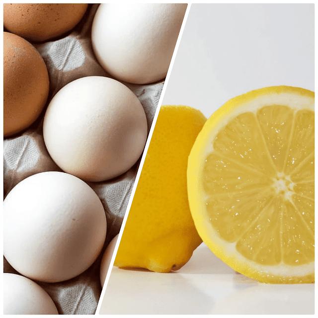 وصفة البيض والليمون للشعر