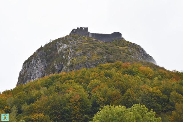 Castillo cátaro de Montsegur, Francia
