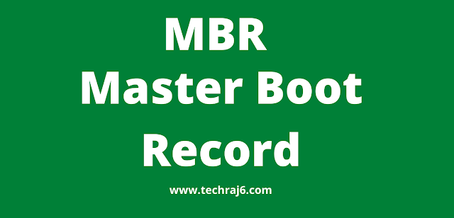 MBR full form, what is the full form of MBR