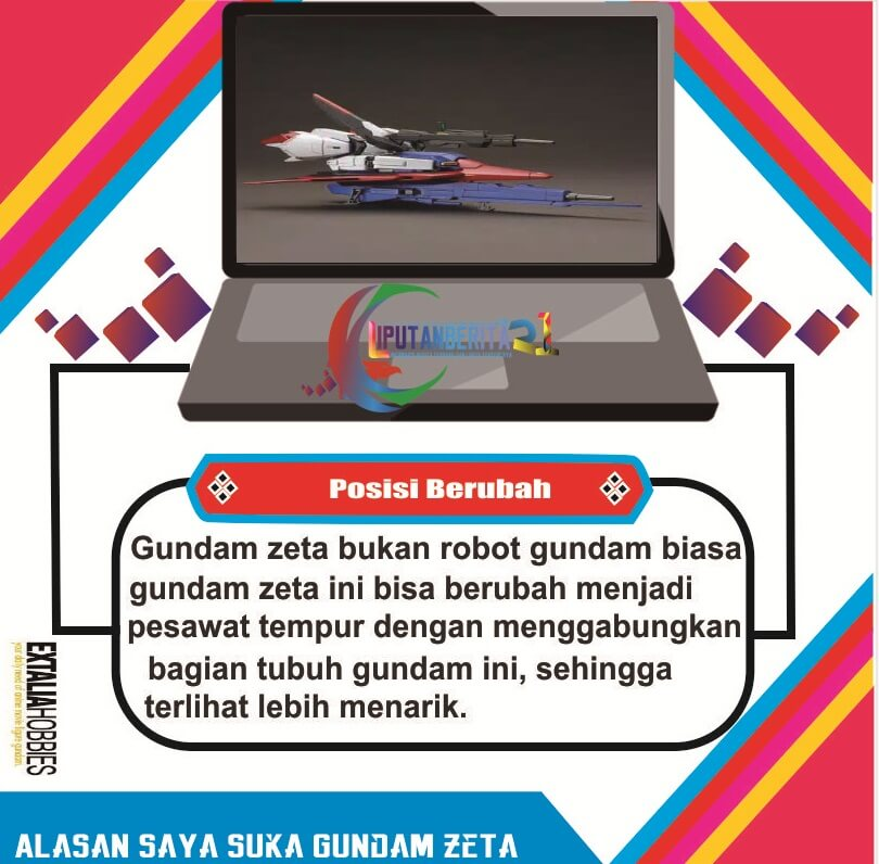 Action Figure Zeta Gundam