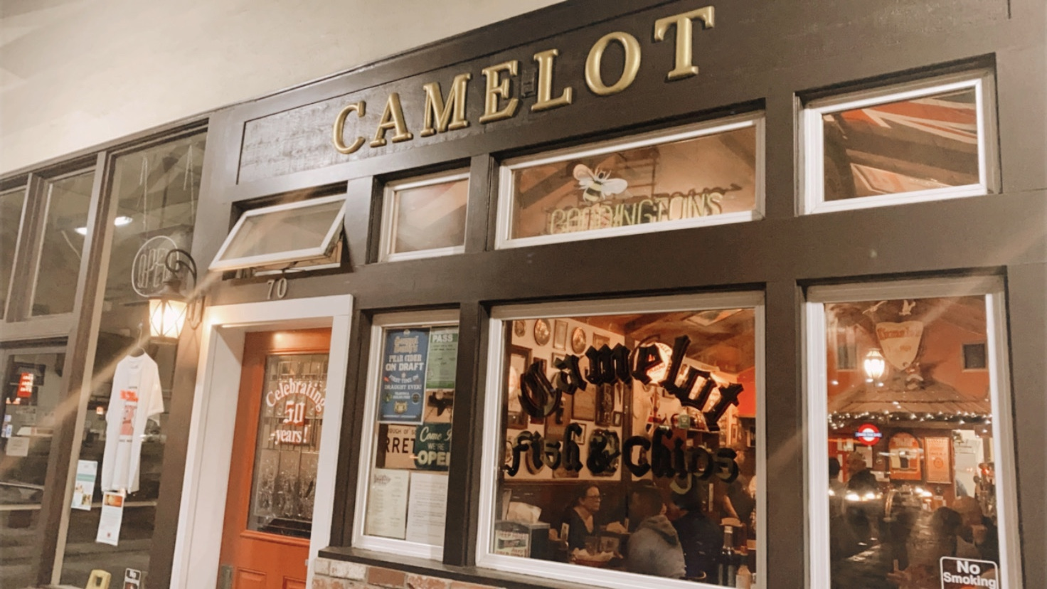 Camelot Fish and Chips in San Francisco | biblio-style.com