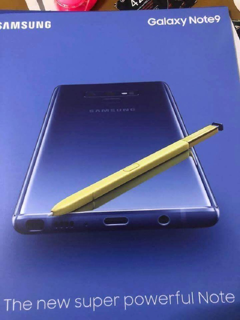 Samsung's ad for Galaxy Note 9 leaks, confirms release of device
