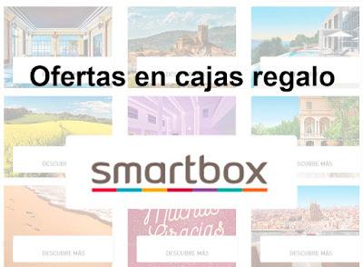 Ofertas en cajas regalo Smartbox