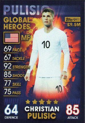 Star internationale Topps Match Attax 101-Harry Kane Angleterre No 38