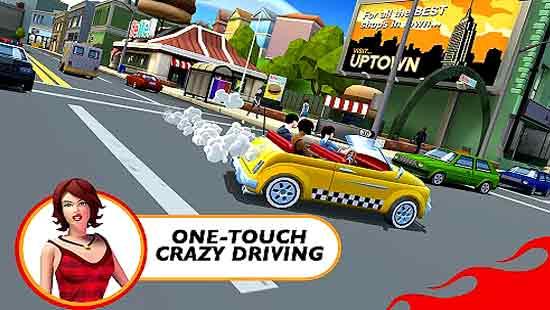 Crazy Taxi City Rush Apk Mod Unlimited