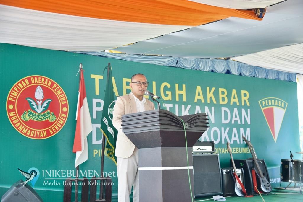 Dilantik di Pinggir Lukulo, Hasan Bayuni Resmi Jabat Ketua Pemuda Muhammadiyah Kebumen