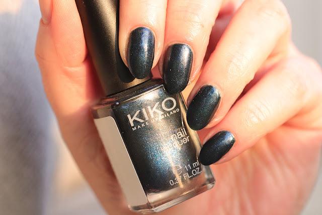 Kiko 522 Pearly Sapphire Blue