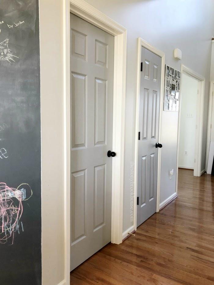 Hall Doors Painted