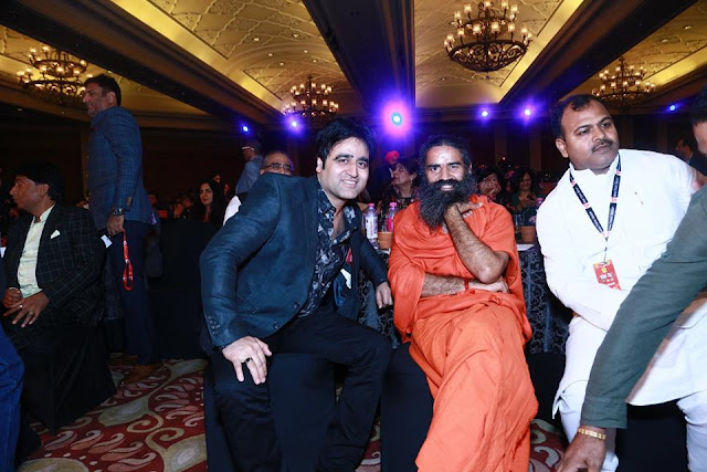 Sanjeev Juneja meet with Yoga guru Baba Ramdev