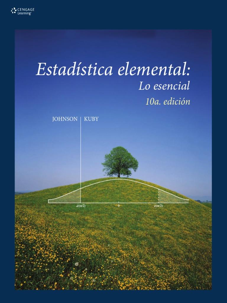 Estadística elemental, 10ma Edición – Robert Johnson