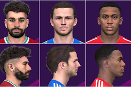 Players Hair Update Vol. 2 - PES 2017