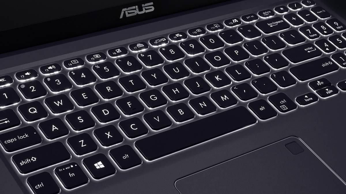 tampilan keyboard ASUS VivoBook 15 A516