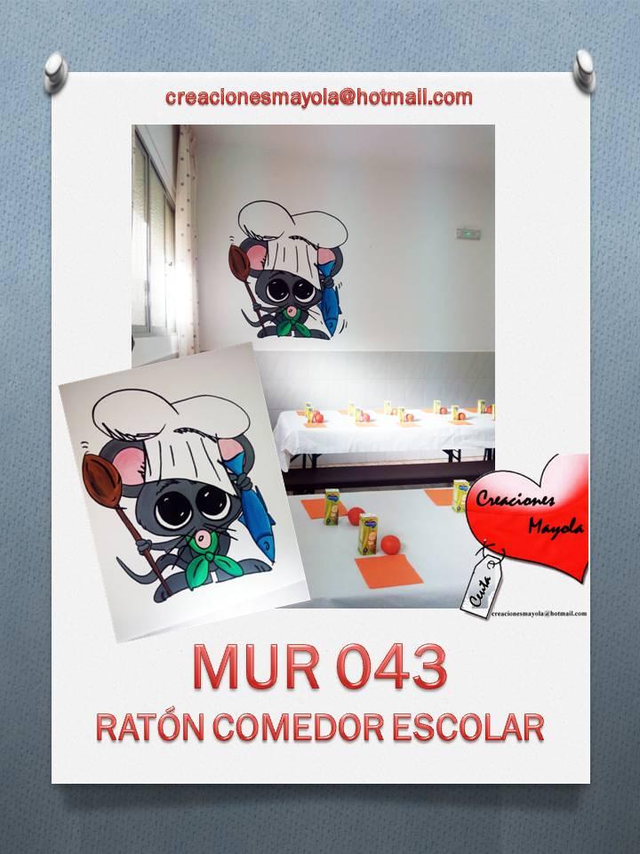 Creaciones Mayola Rat N Comedor Escolar Decoraci N Escolar