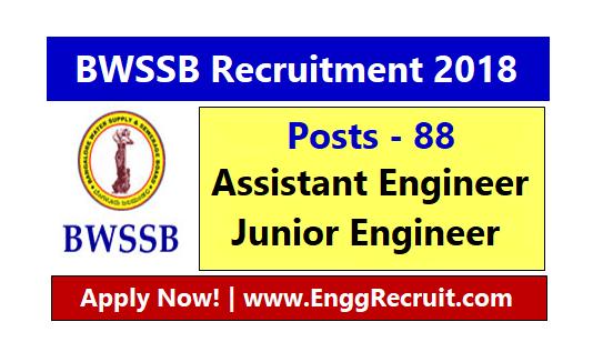 BWSSB Recruitment 2018