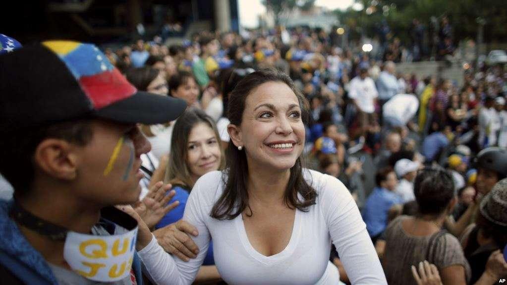 María Corina Machado, exlegisladora y líder opositora venezolana / AP