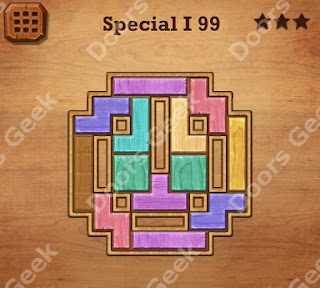 Cheats, Solutions, Walkthrough for Wood Block Puzzle Special I Level 99