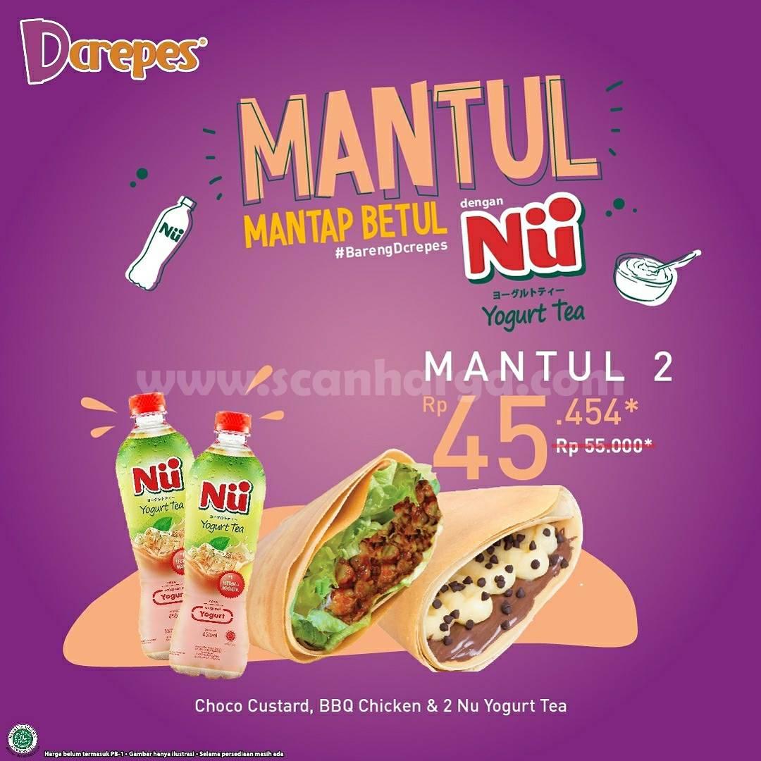 Promo DCREPES Paket Mantul harga mulai Rp. 45.454