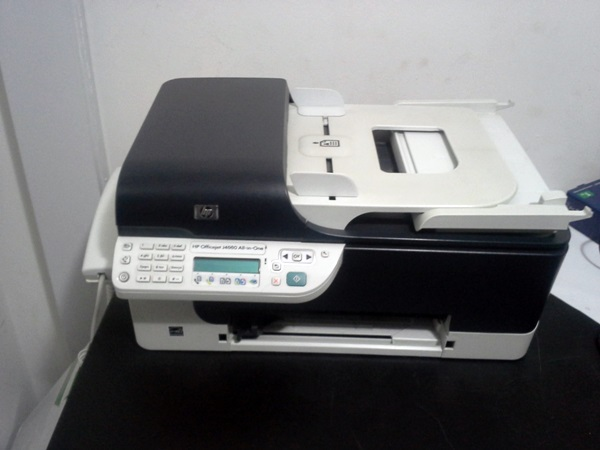 Impressora multifuncional do Paulo Rocha - HP Officejet J4660 All in One