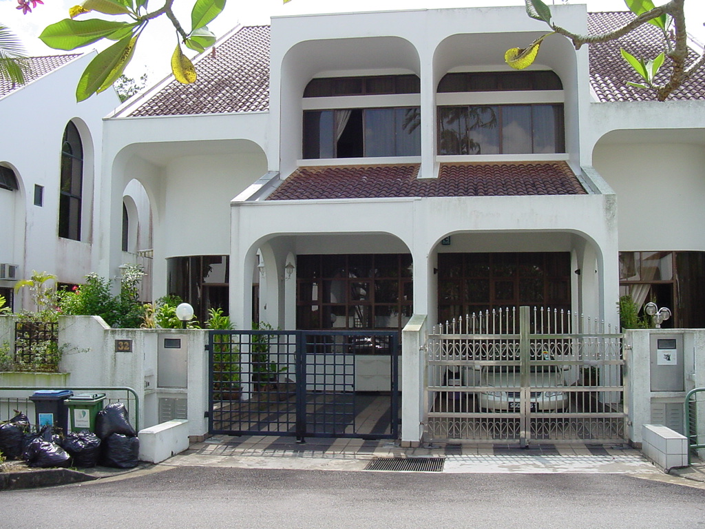 Eviltwin 39 s blog different singapore houses photos for The terrace house