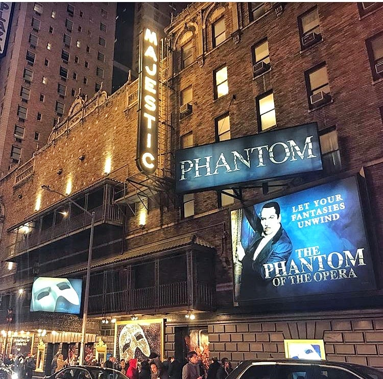 The Phantom of the Opera on Broadway NYC