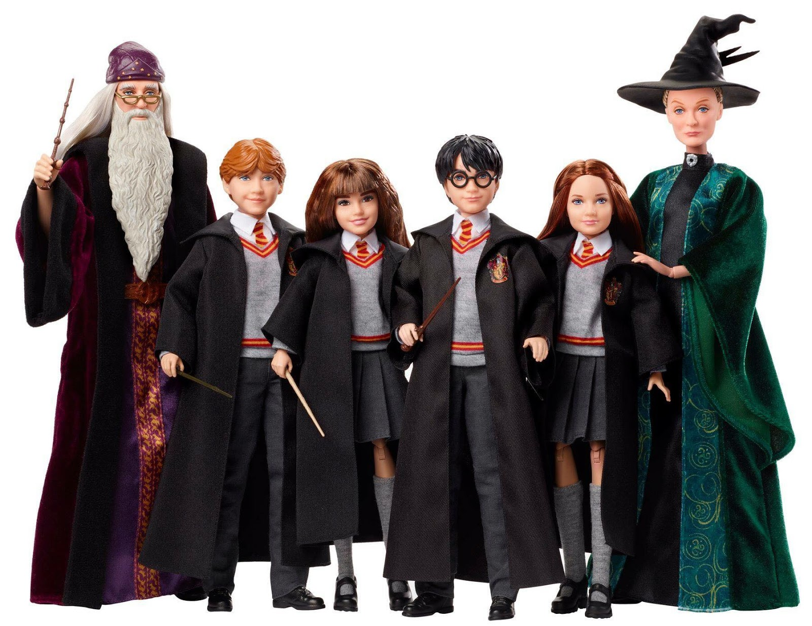 Juguetes de Harry Potter y Animales Fantásticos muñecos