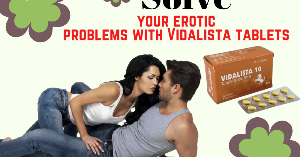 Vidalista 10mg tablet buy online at Edmedplus