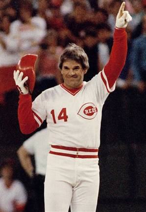 Pete rose in the hall of